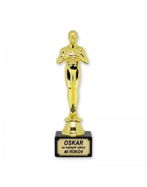Soška Oskara - Za najlepší...