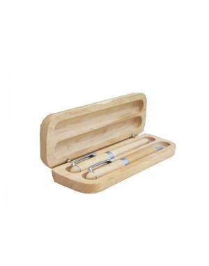 Gravírované drevené perá - Lakované