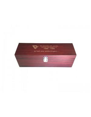 Gravírovaná krabica na víno