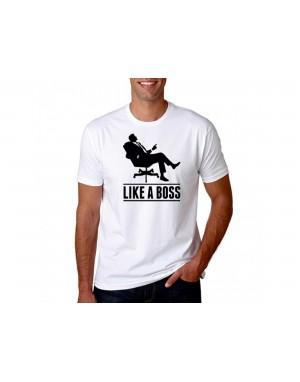 Vtipné tričko - Like a Boss