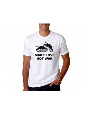 Vtipné tričko - Make love...