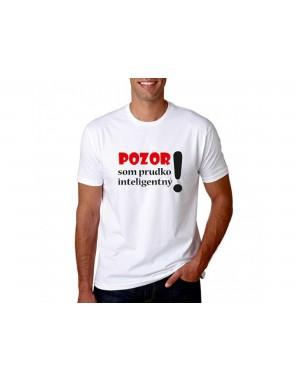 Vtipné tričko - Pozor som...