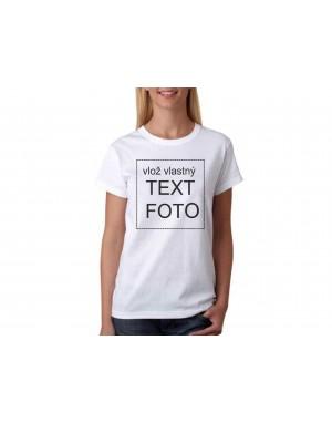 Dámske tričko s vlastným...