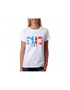 Vtipné tričko - Anjel-Diabol