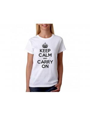 Vtipné tričko - Keep Calm...