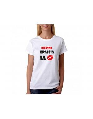 Vtipné tričko - Krásna,...