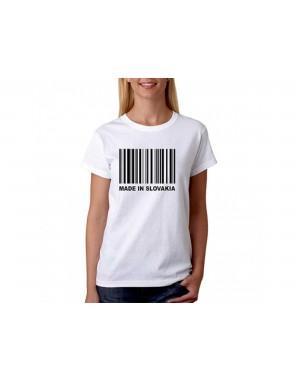 Vtipné tričko - Made in...