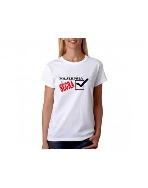 Vtipné tričko - Najlepšia...