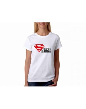 Vtipné tričko - Super babka
