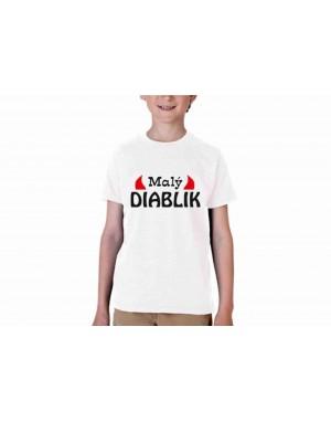 Vtipné tričko - Malý diablik
