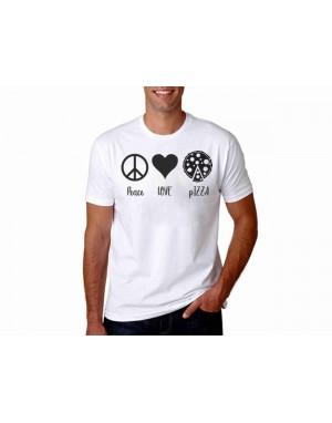 Vtipné tričko - Peace love...