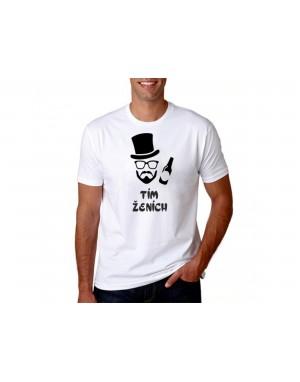Vtipné tričko - Tím Ženích
