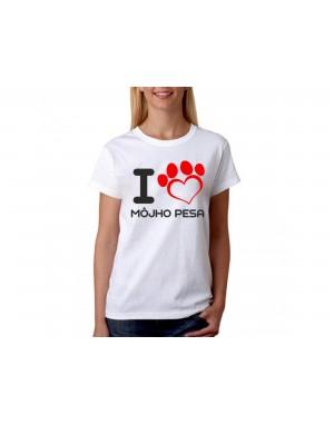Vtipné tričko - I Love...