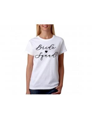 Vtipné tričko - Bride Squad