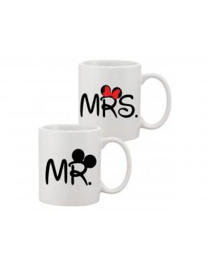 Sada hrnčekov - Mr a Mrs -...
